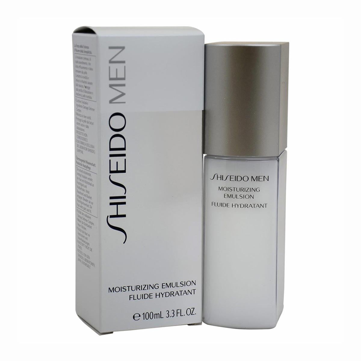 Shiseido men emulsion hidratante 100ml