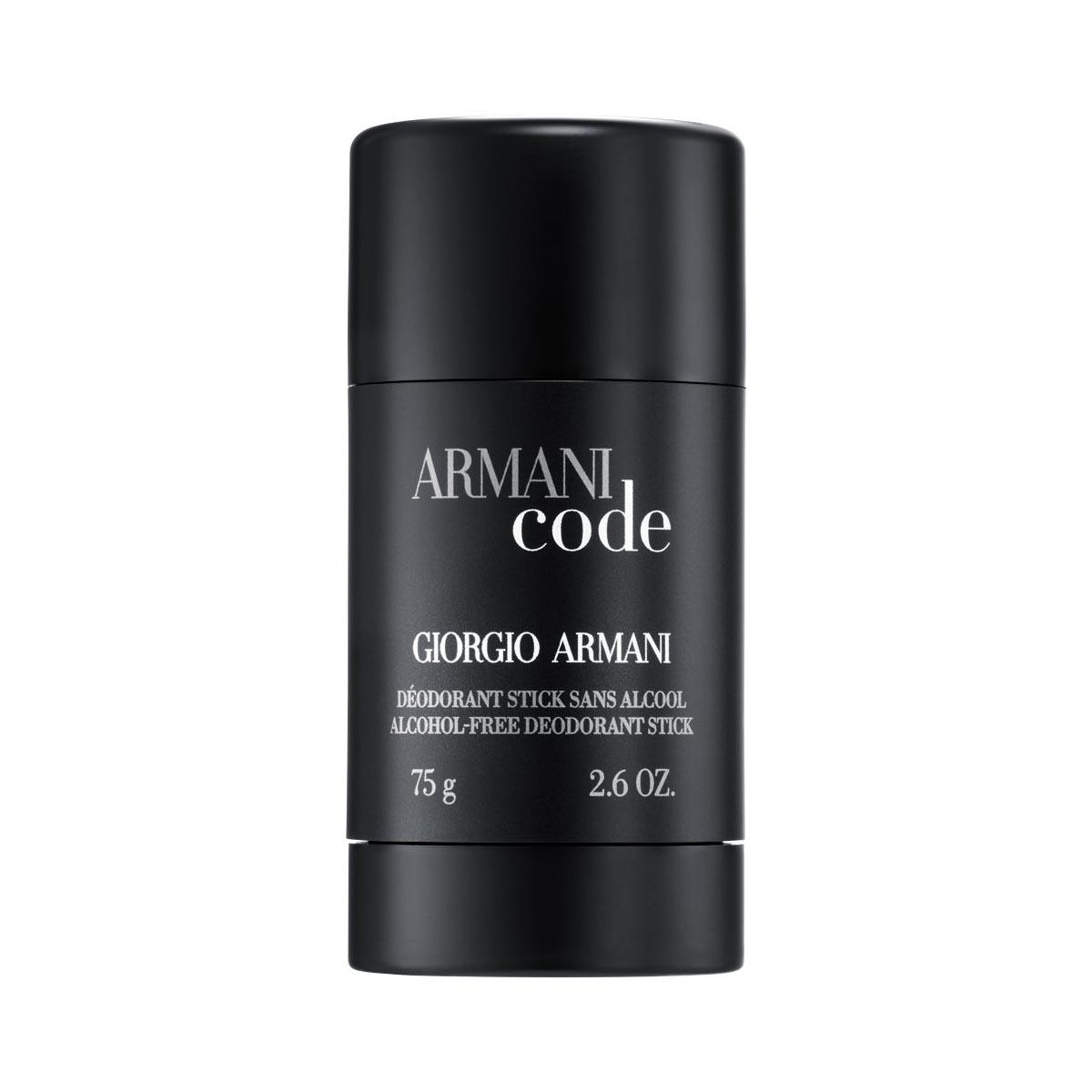 Giorgio armani black code deodorant stick 75gr