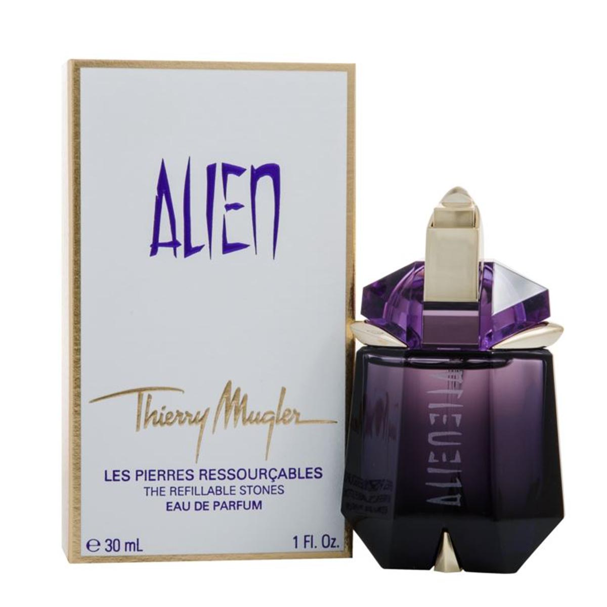 Thierry mugler alien eau de parfum 30ml recarga vaporizador