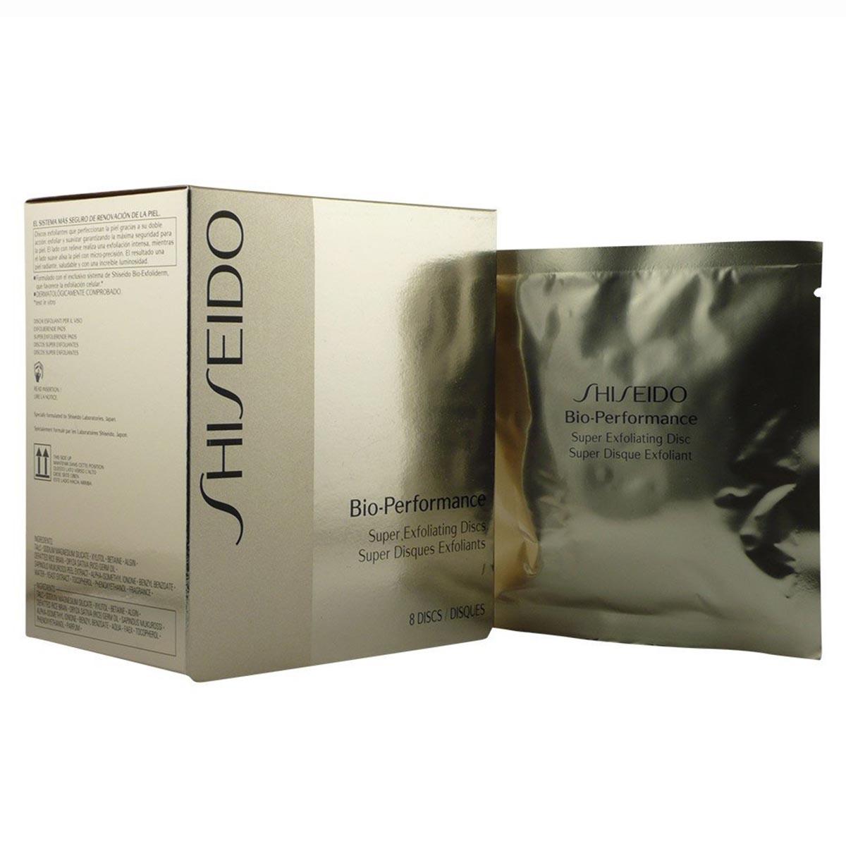 Shiseido bio performance super exfoliante disc 8u