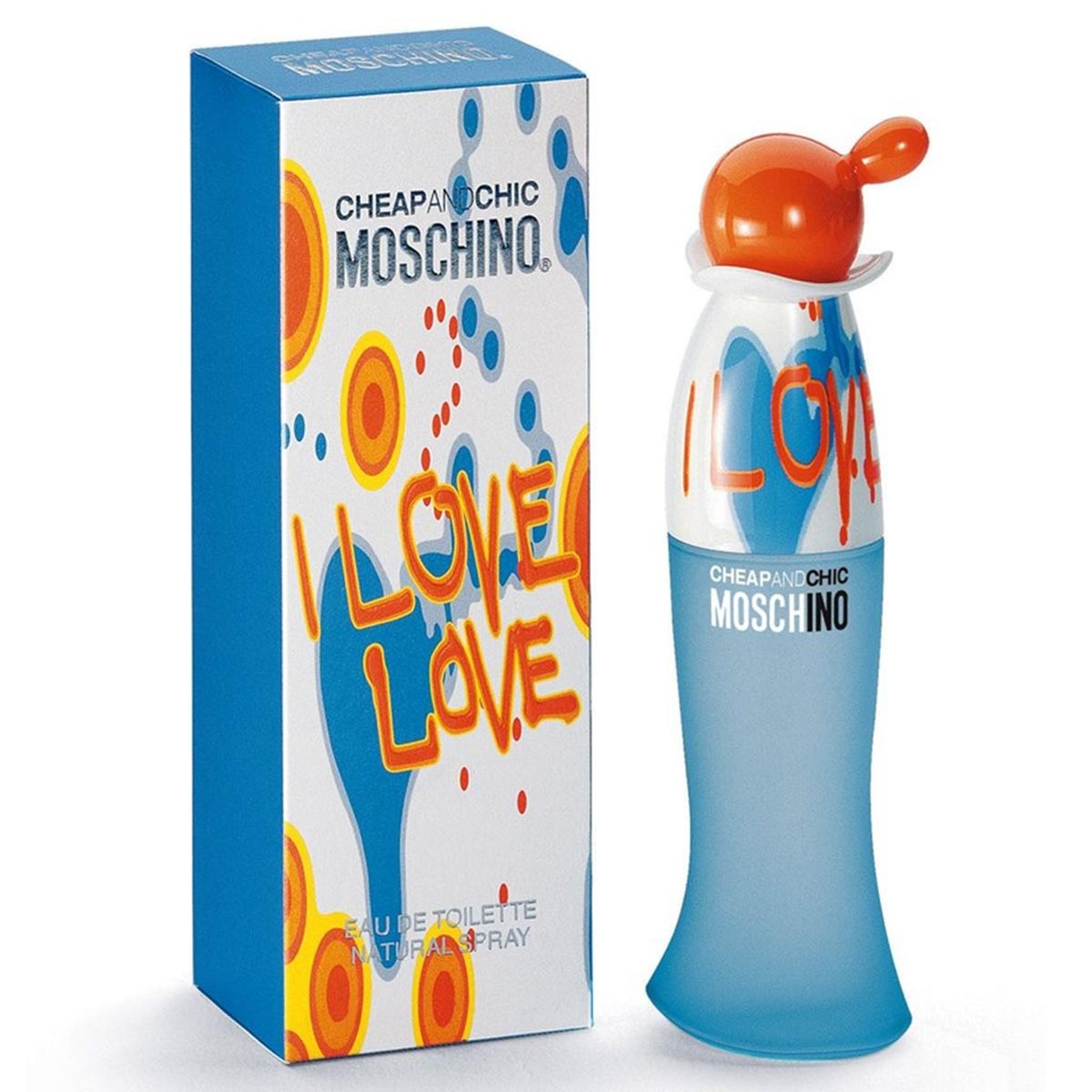 Moschino cheap chic i love love eau de toilette 100ml vaporizador