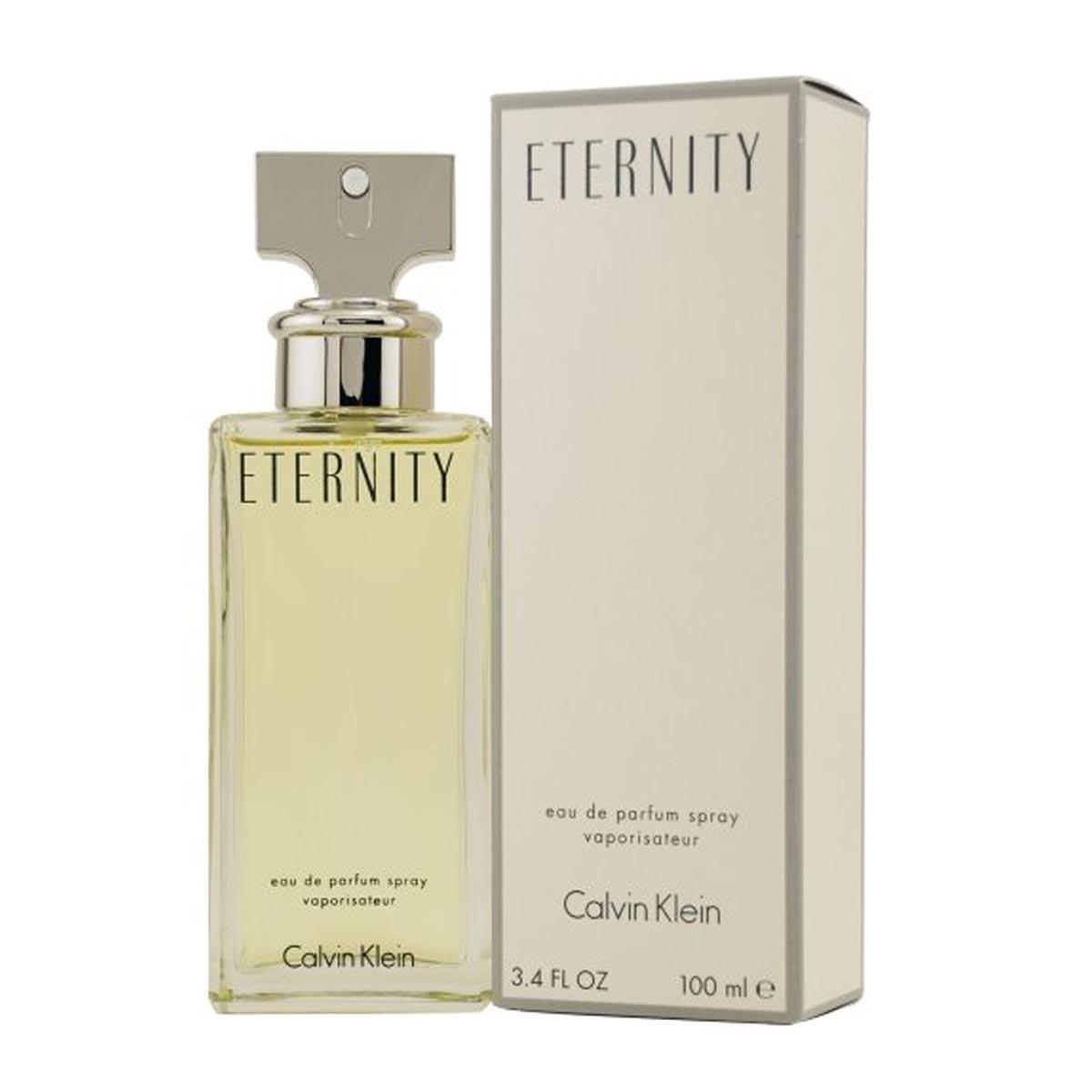 Calvin klein eternity eau de parfum 100ml vaporizador