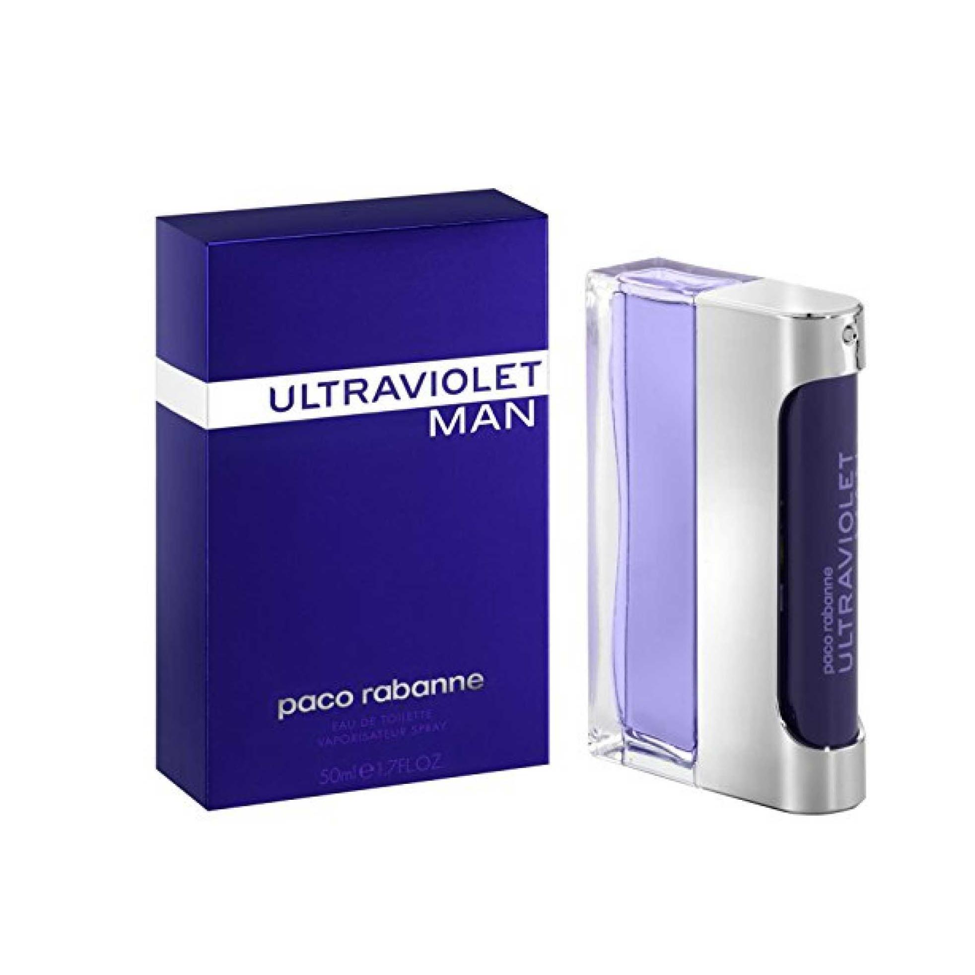 Paco rabanne ultraviolet man eau de toilette 50ml vaporizador