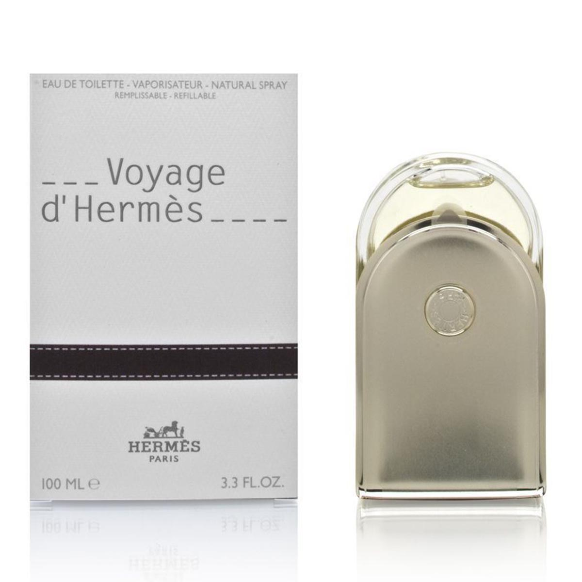 Hermes voyage eau de toilette 100ml vaporizador