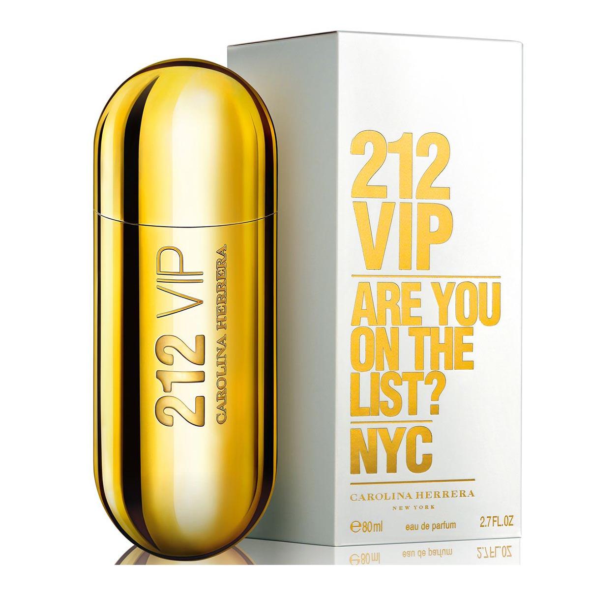 Carolina herrera 212 vip eau de parfum 80ml vaporizador