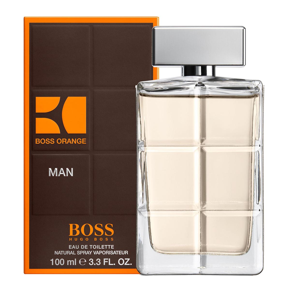 Hugo boss orange men eau de toilette 100ml vaporizador