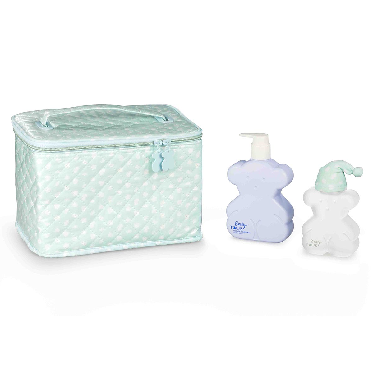 Tous baby eau de colonia 100ml vaporizador body milk 250ml neceser
