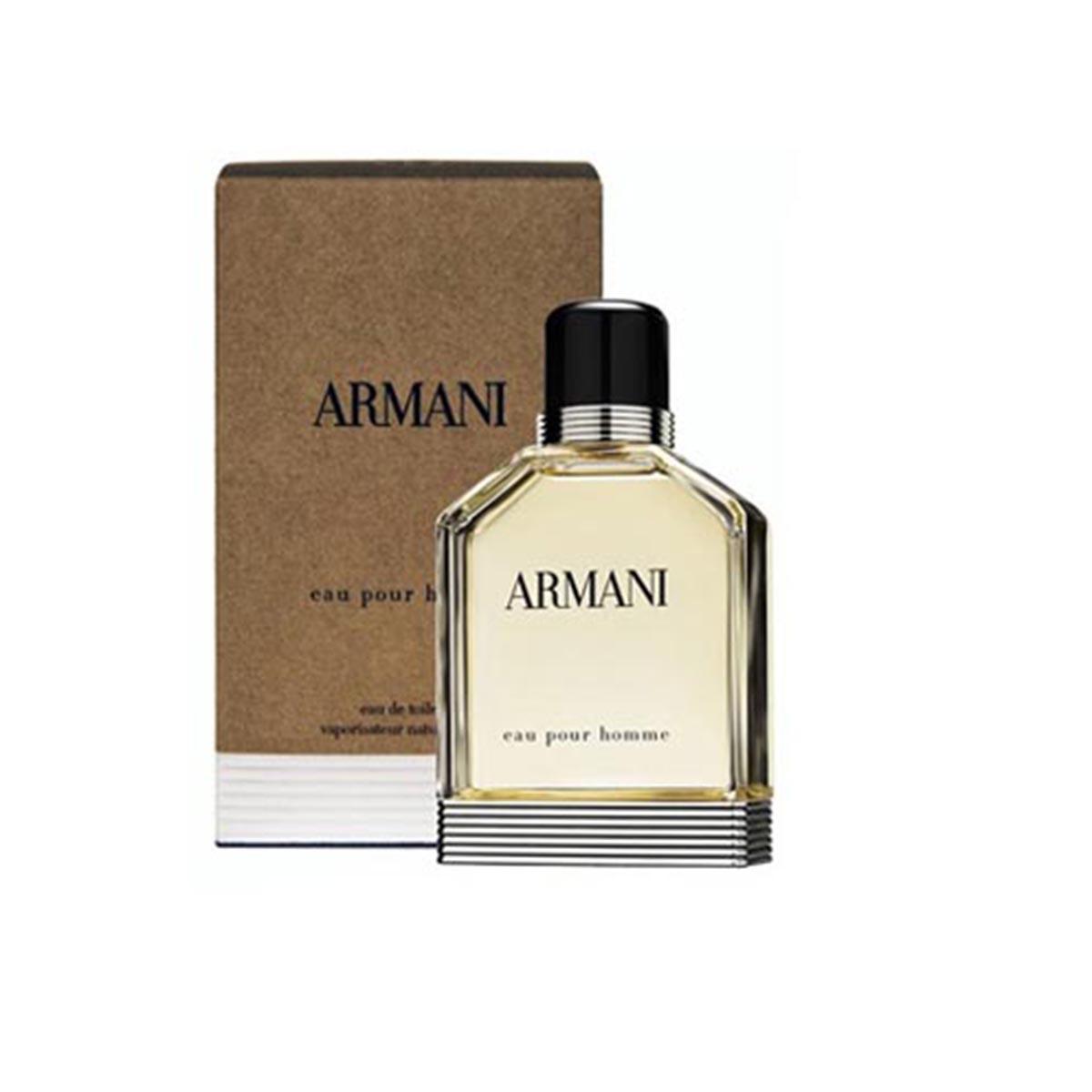 Giorgio armani pour homme eau de toilette 100ml vaporizador