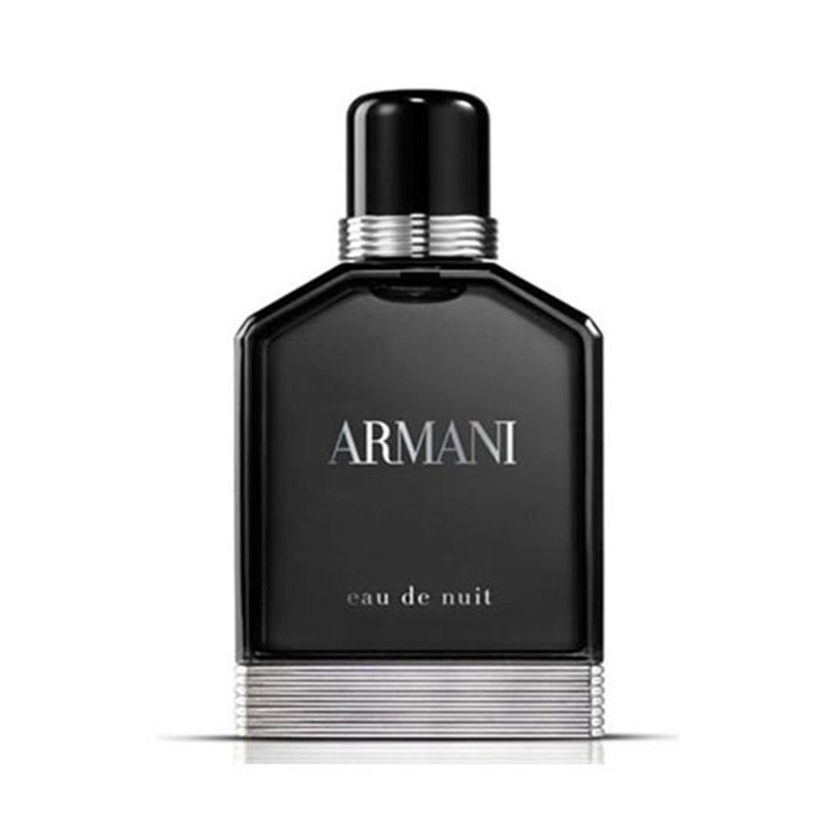 Giorgio armani pour homme eau nuit eau de toilette 100ml vaporizador