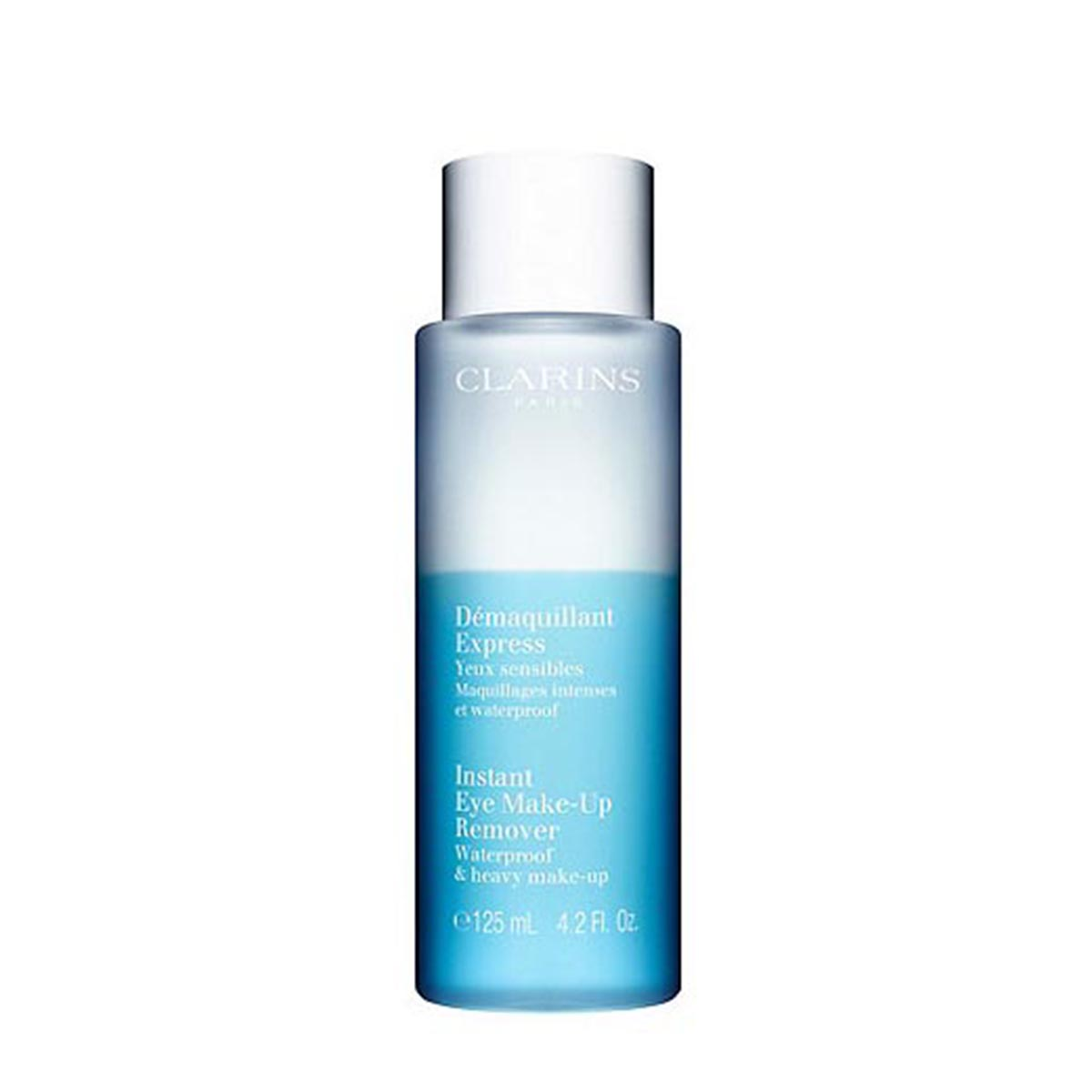 Clarins desmaquillante express waterproof yeux 125ml