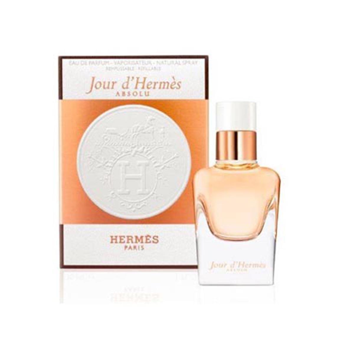 Hermes jour absolue eau de parfum 50ml recargable vaporizador