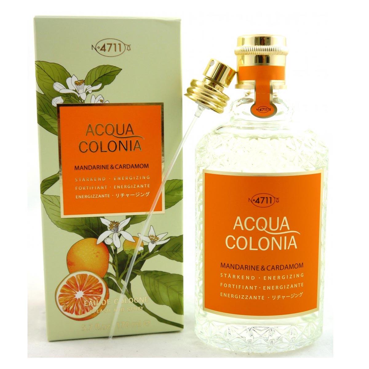 4711 acqua colonia mandarine cardamom eau de cologne 170ml vaporizador