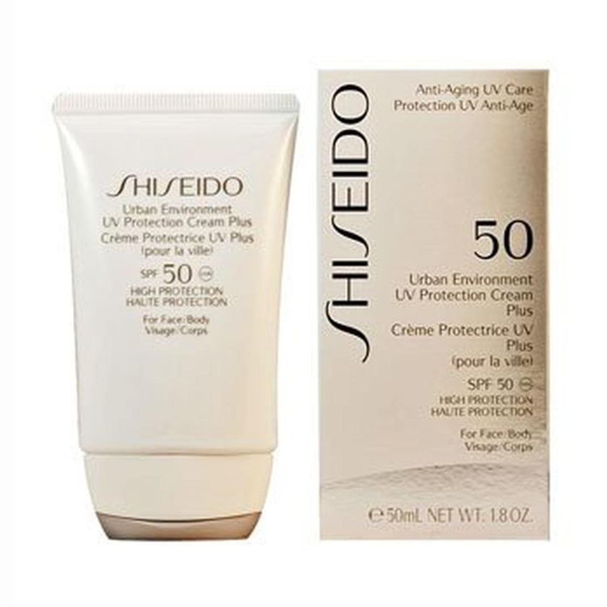 Shiseido urban environment uv protect plus spf50 50ml