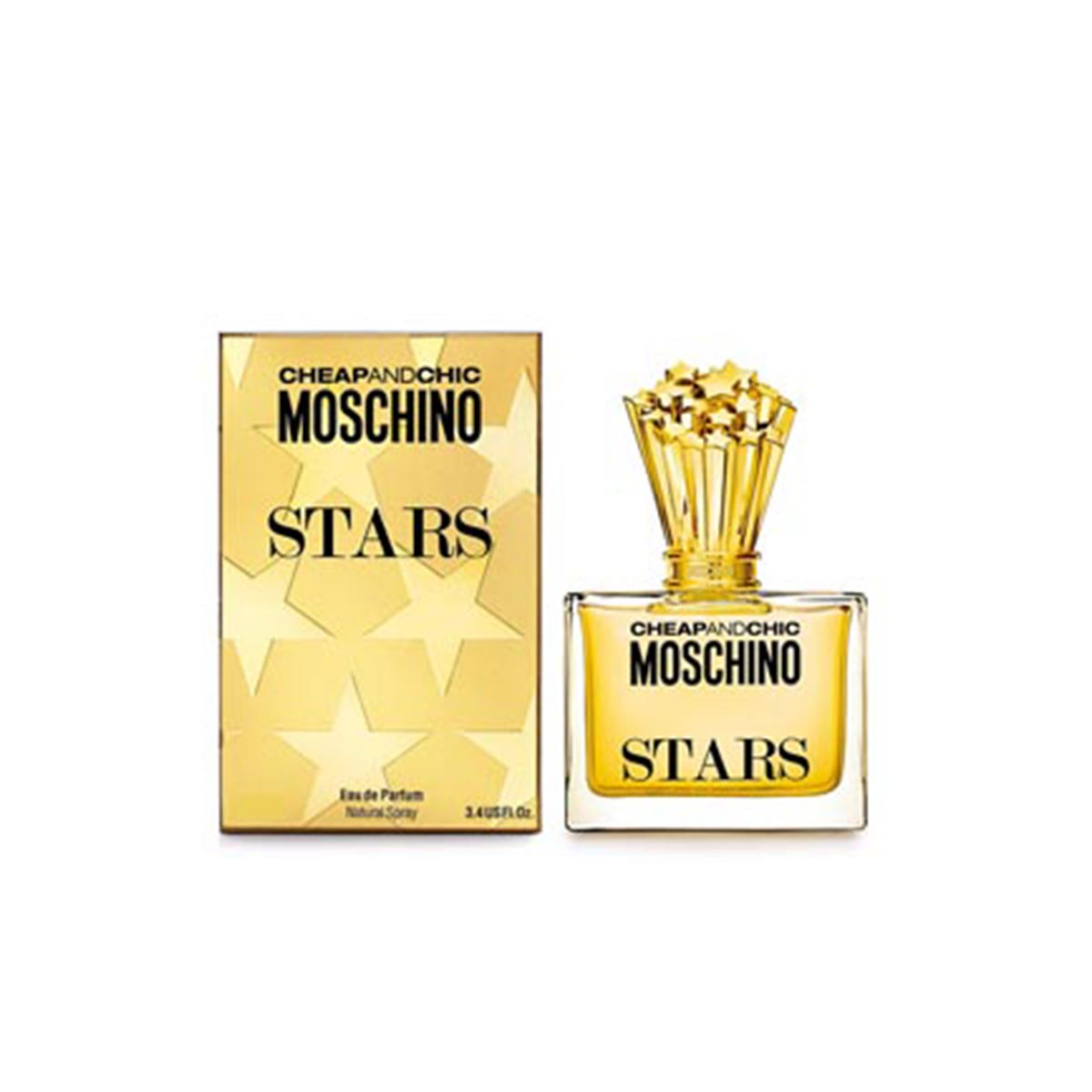 Moschino cheapandchic stars eau de parfum 30ml vaporizador