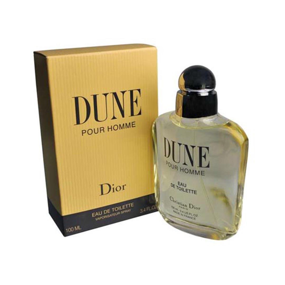 Dior dune pour homme eau de toilette 100ml vpo vaporizador