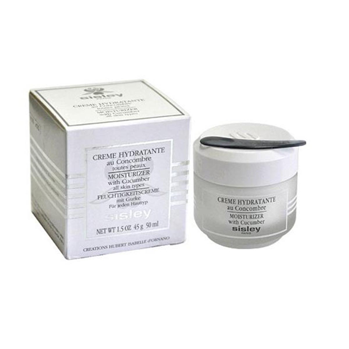 Sisley creme hydratante au concombre 50ml