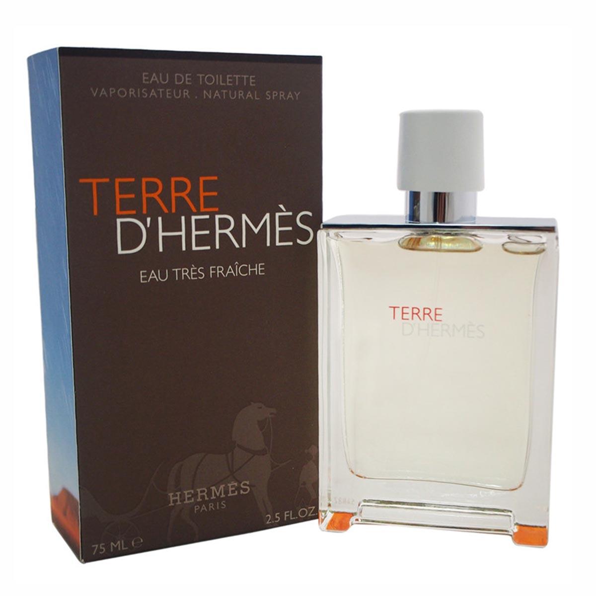 Hermes terre d hermes eau tres fraiche eau de toilette 75ml vaporizador
