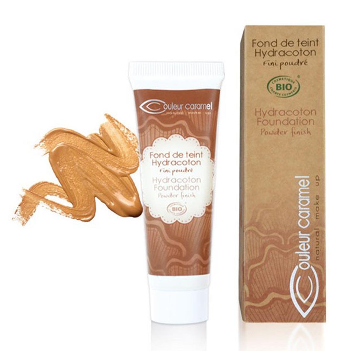 Couleur caramel fond de teint hydracoton foundation n 14 sable chaud