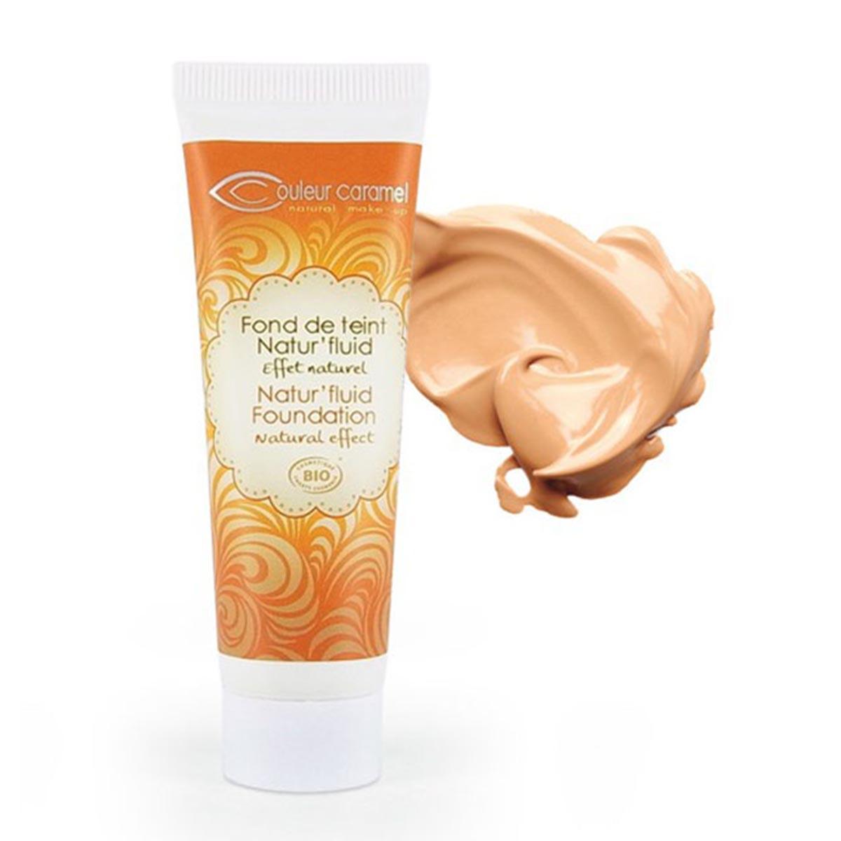 Couleur caramel fond de teint natur fluid effet naturel n 13 beige abricot