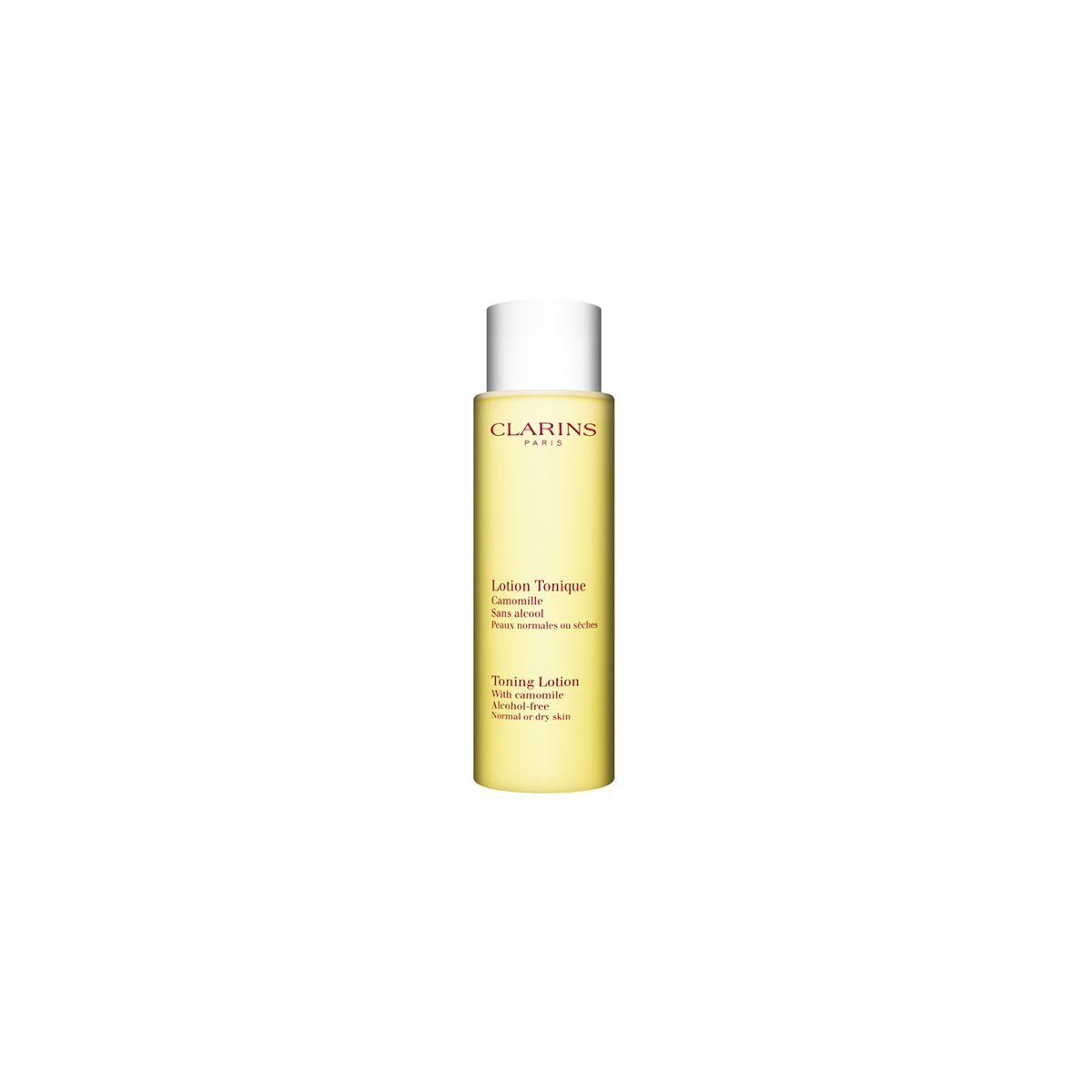 Clarins lotion tonique camomille sans alcohol pieles normales 200ml