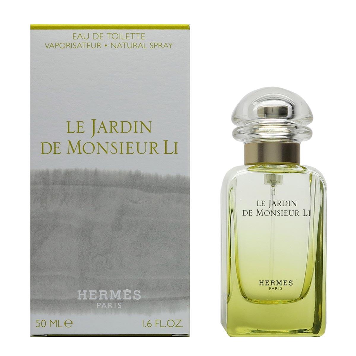 Hermes le jardin de monsieur li eau de toilette 50ml vaporizador