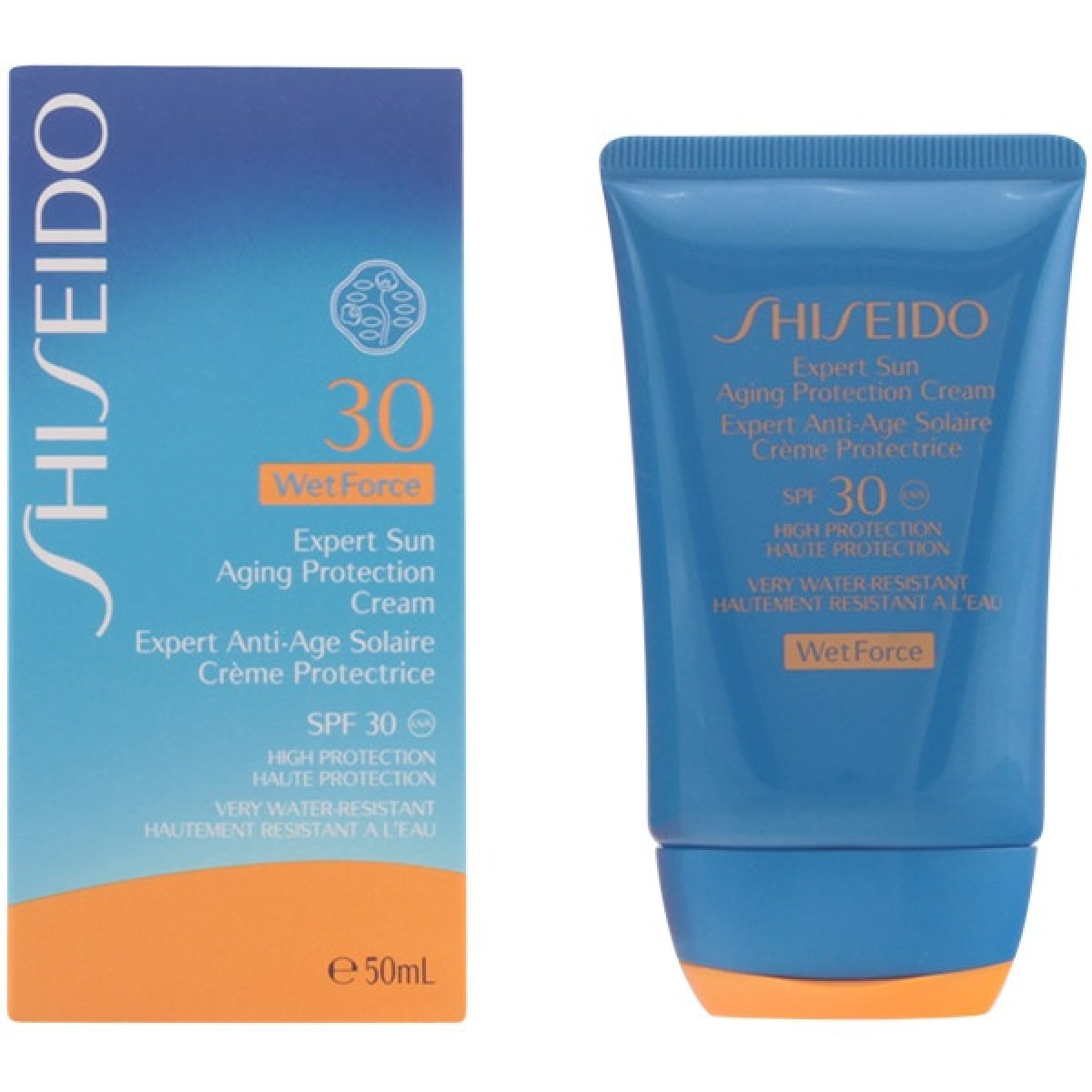Shiseido expert sun aging protection cream plus spf30 50ml