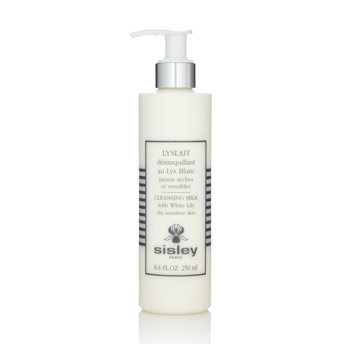 Sisley lyslait demaquillant au lys blanc peaux seches et sensibles 250ml