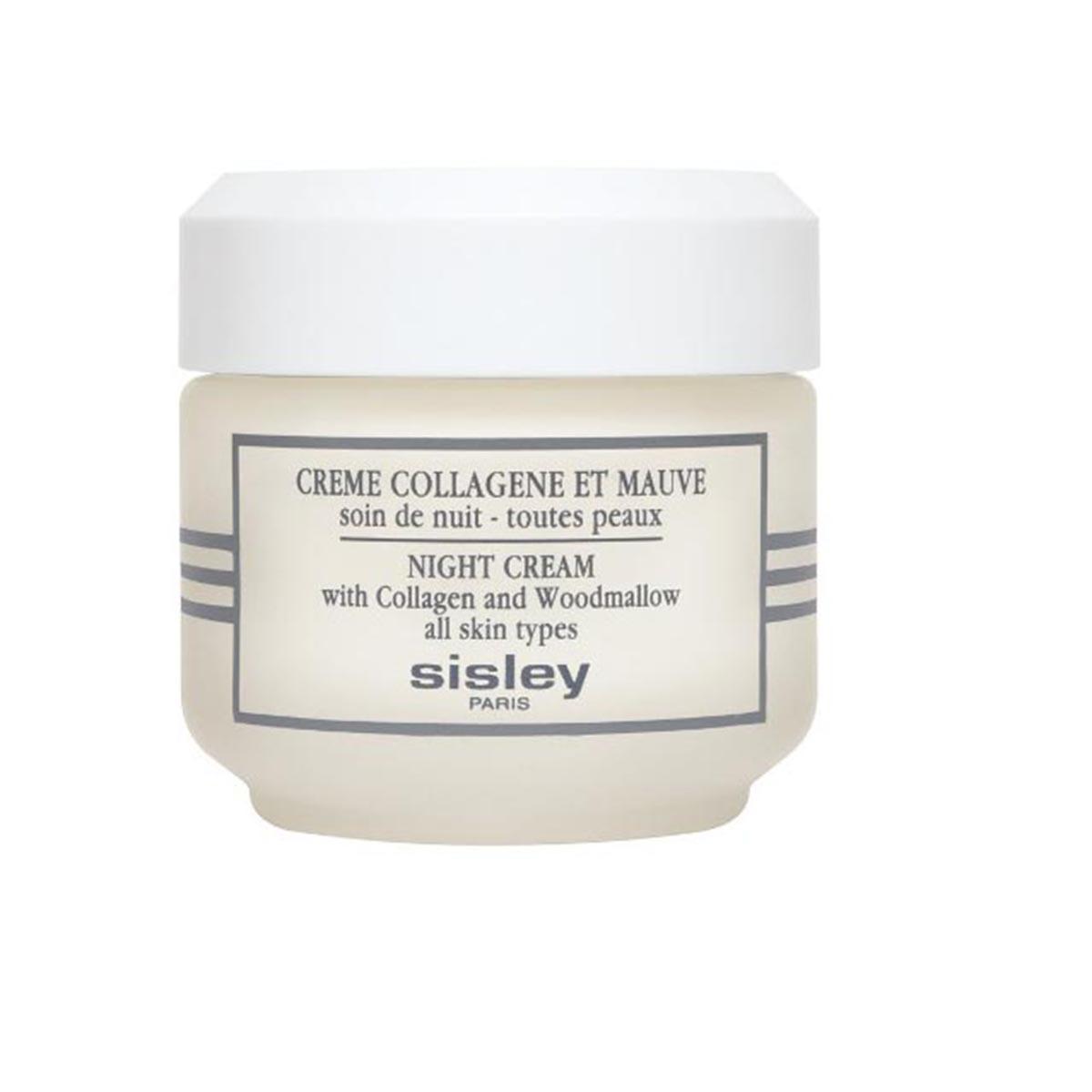 Sisley creme collagene et mauve soin de nuit toutes peaux creme 50ml