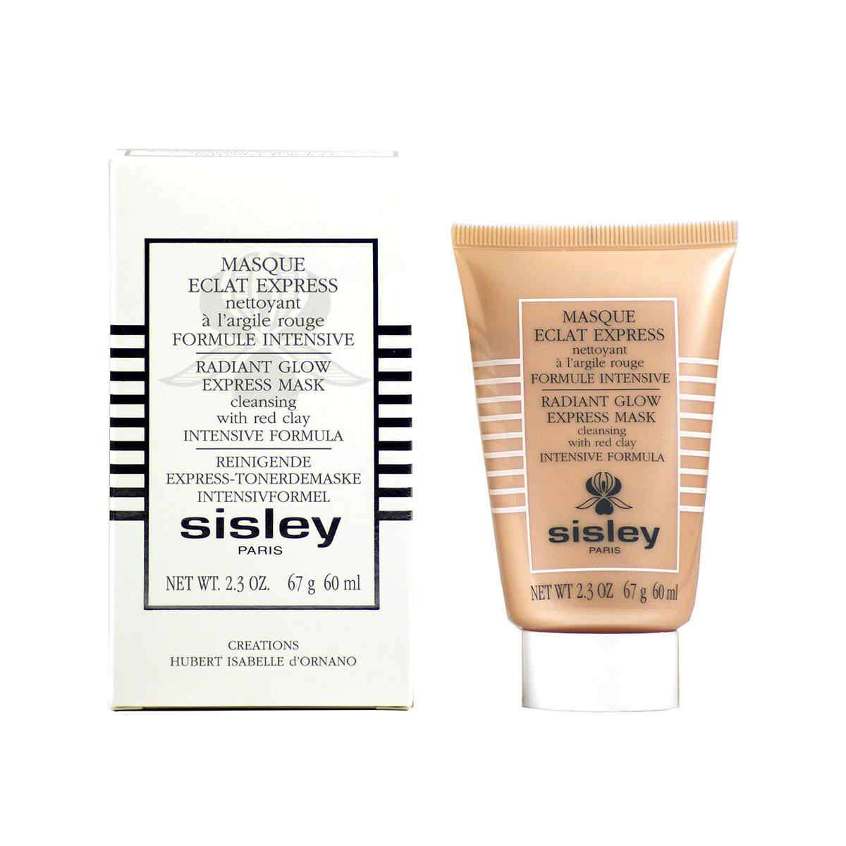 Sisley masque eclat express nettoyant creme 60ml