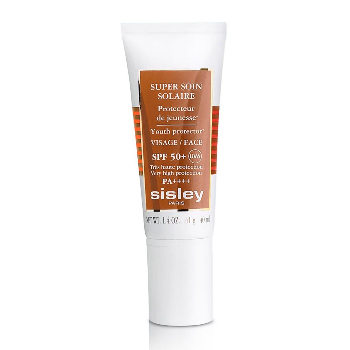 Sisley super soin solaire visage spf50 uva creme 40ml
