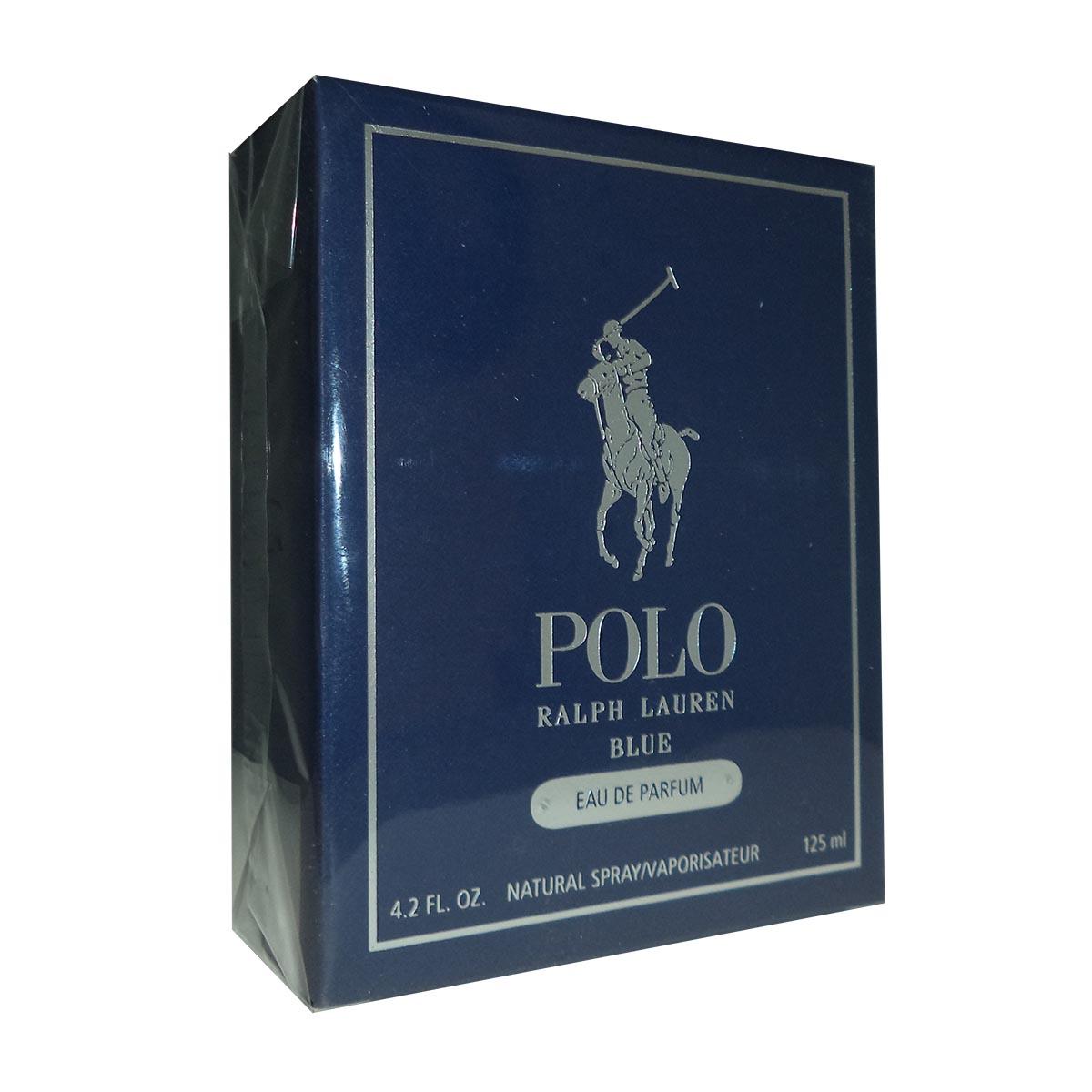 Ralph lauren polo blue eau de parfum 125ml vaporizador
