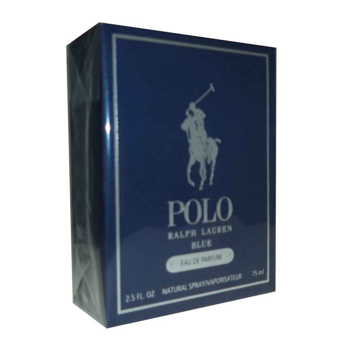 Ralph lauren polo blue eau de parfum 75ml vaporizador