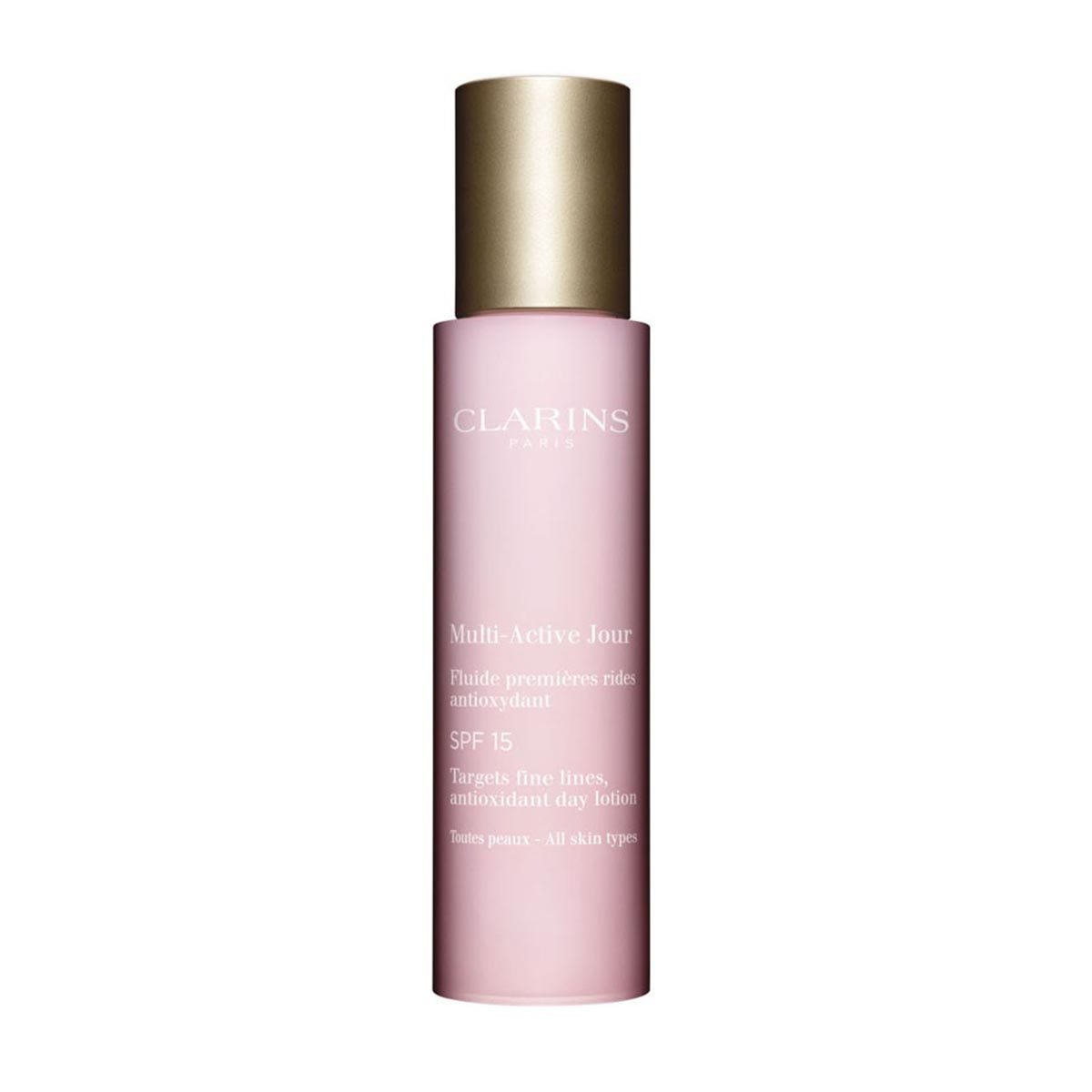 Clarins multi active antioxidant day lotion spf15 all skin types 50ml