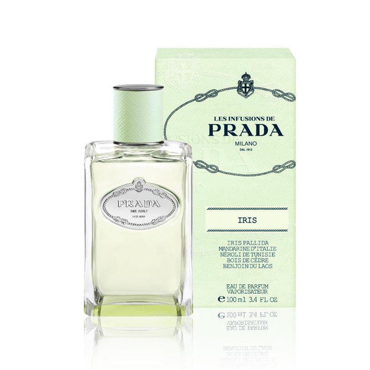 Prada infusion d iris eau de parfum 100ml vaporizador
