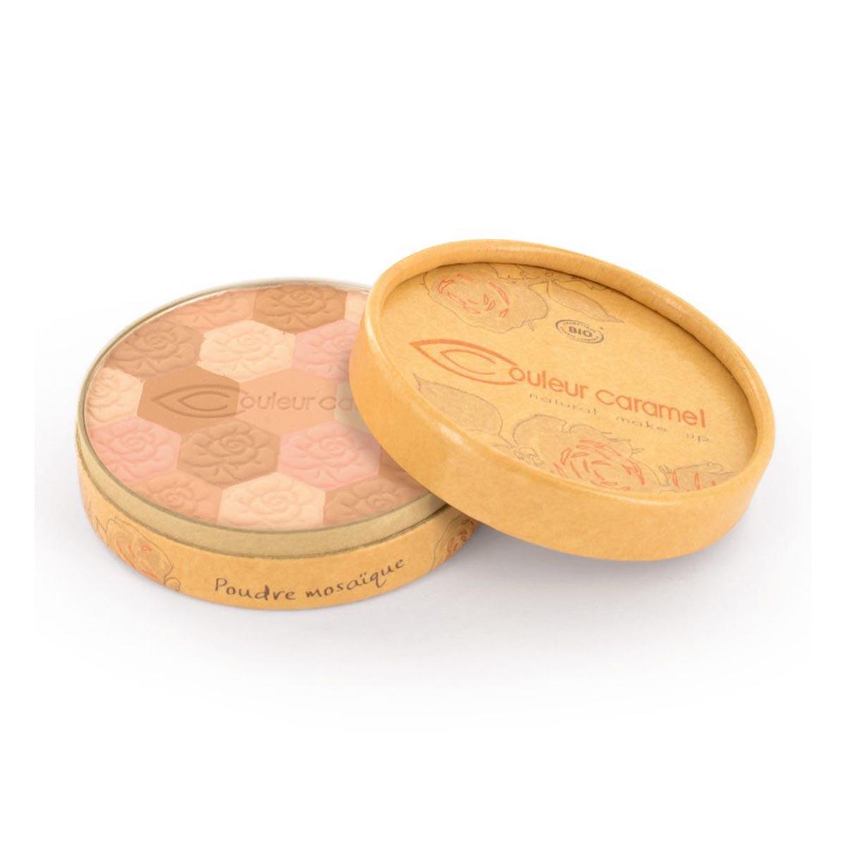 Couleur caramel poudre mosaique eclat du teint mate 232 fair skin