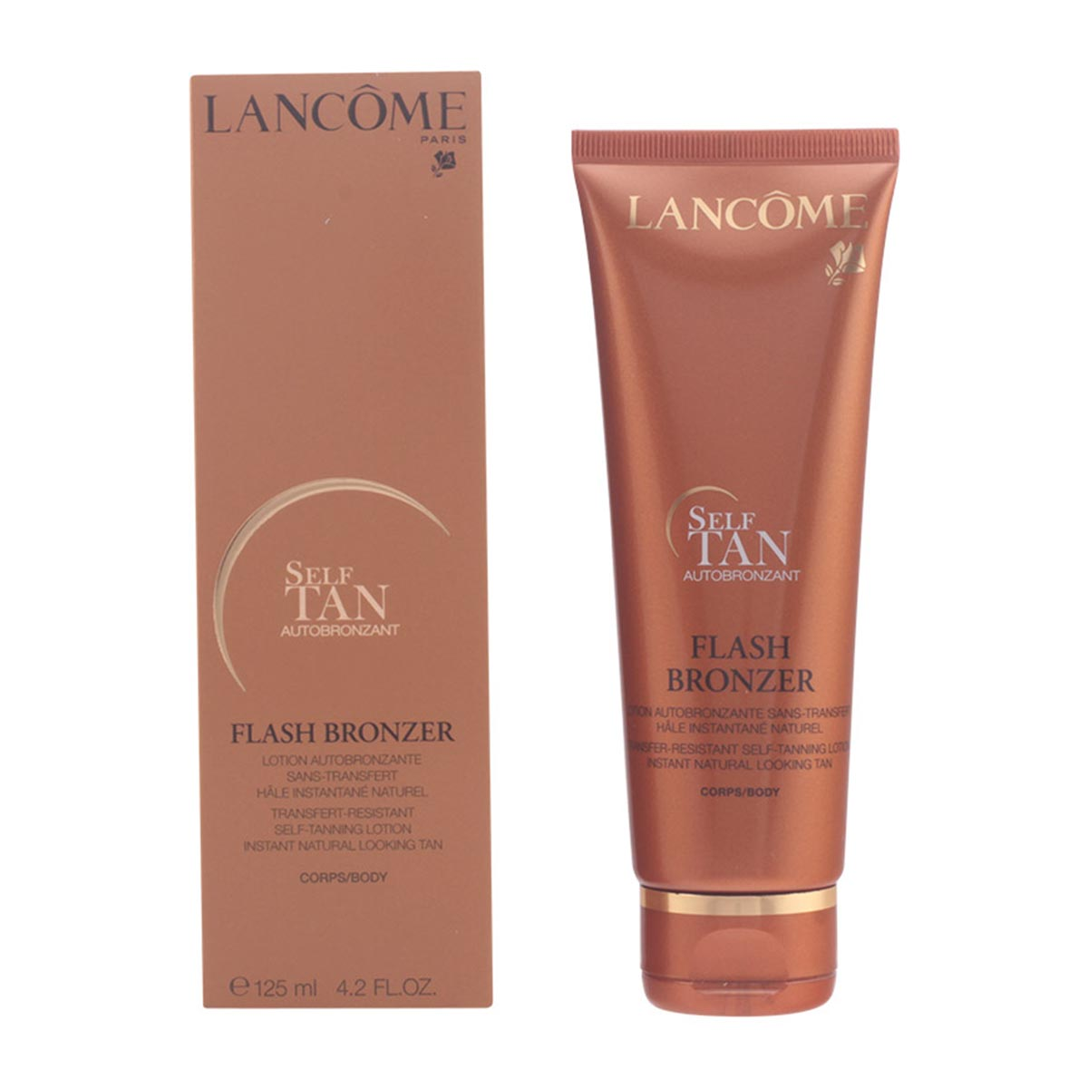 Lancome self tan autobronzant flash bronzer lotion 125ml