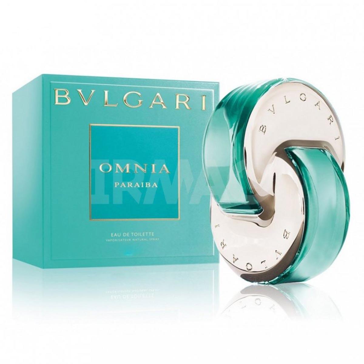 Bvlgari omnia paraiba eau de toilette 40ml vaporizador