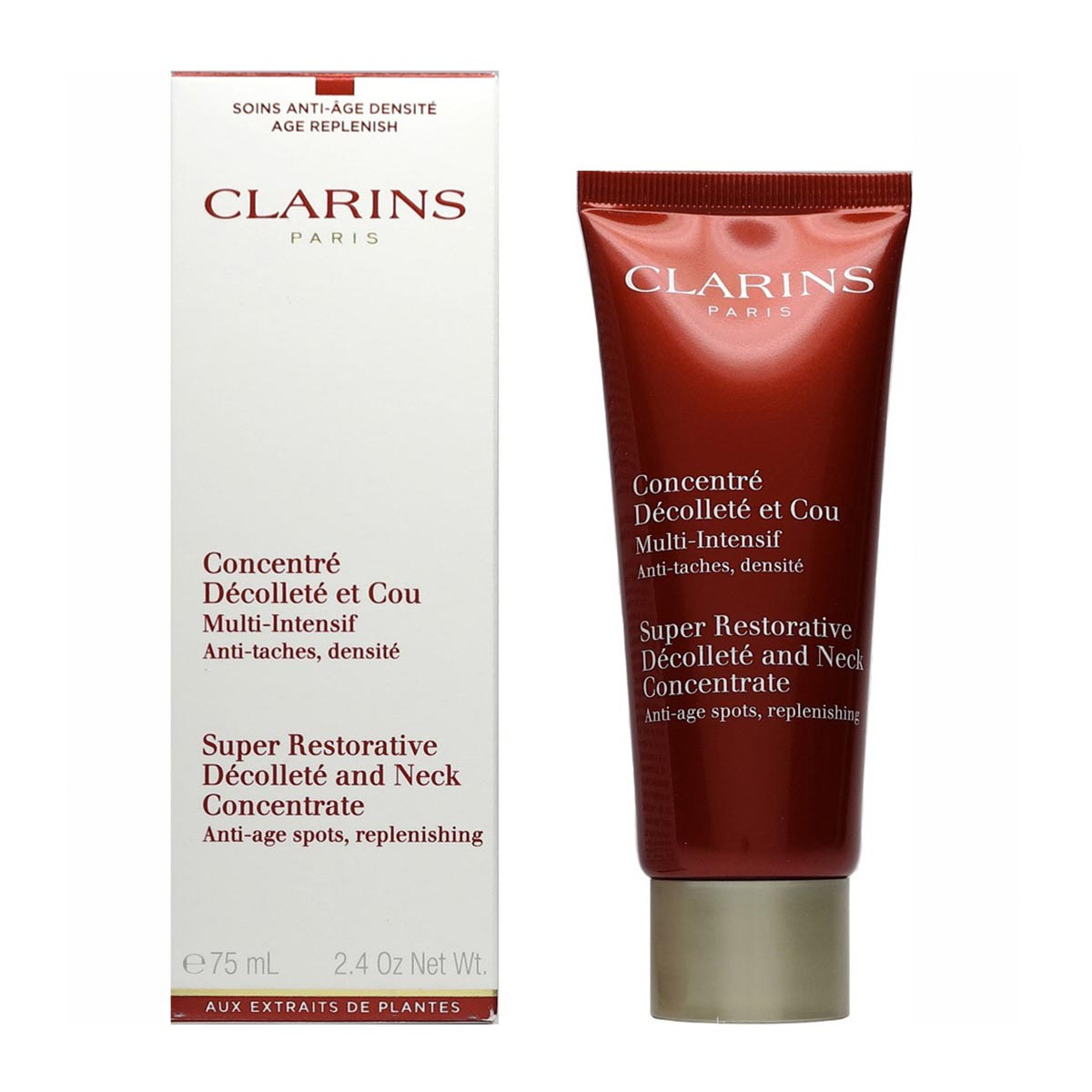 Clarins concentre decollete et cou multi intensif anti taches 75ml
