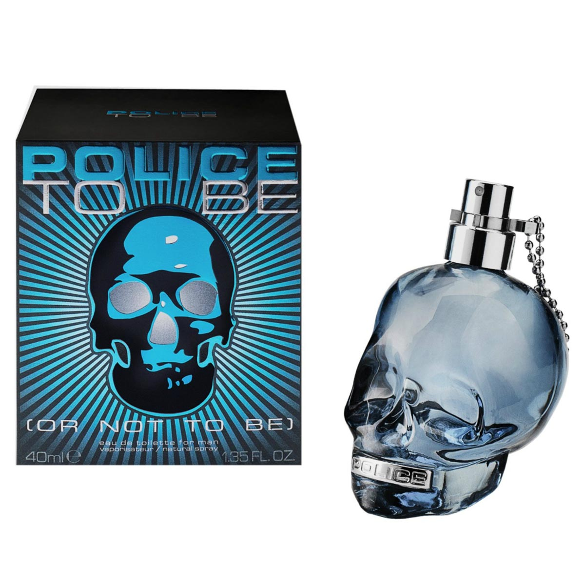 Police to be or not to be for man eau de toilette 40ml vaporizador