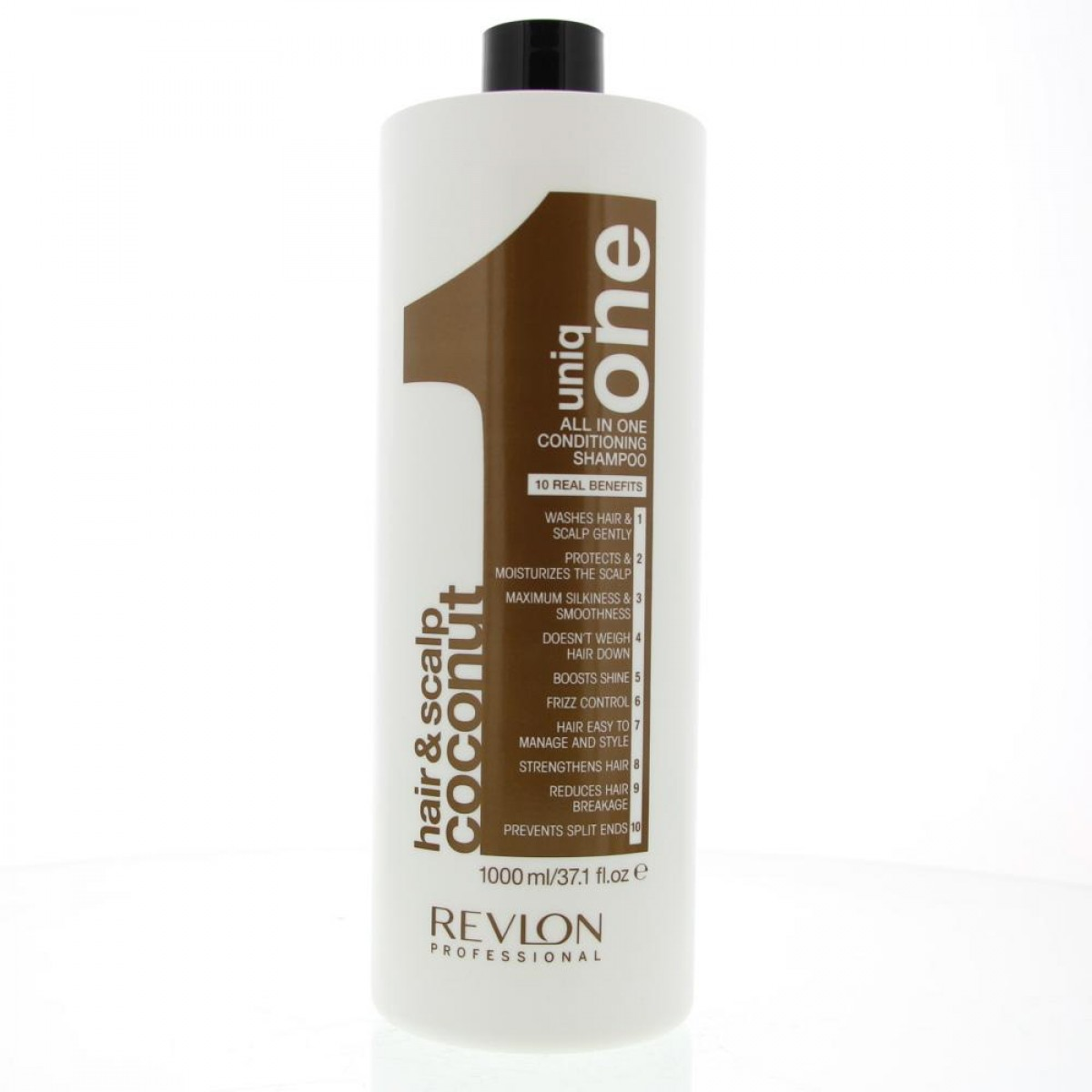 Revlon uniq one hair scalp coconut all in one conditioning shampoo 1000ml
