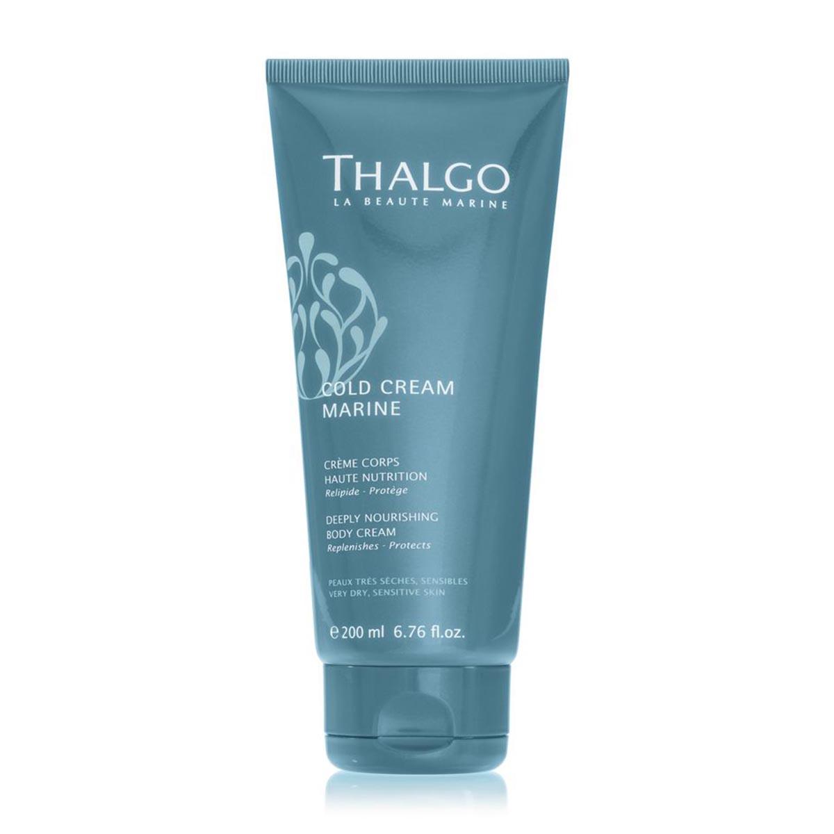 Thalgo cold cream marine 24 hydrating body milk dry sensitive skin 200ml