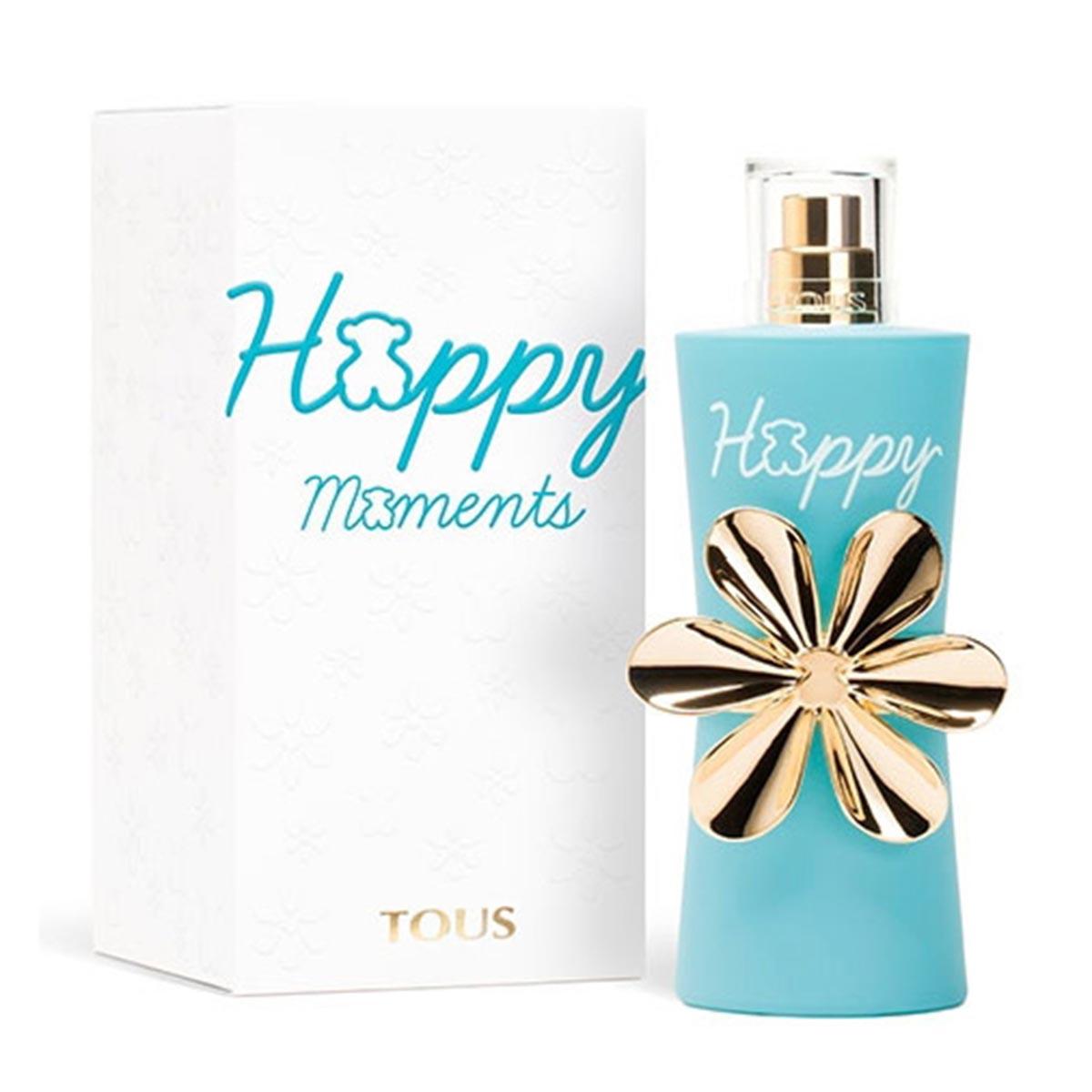 Tous happy moments eau de toilette 90ml vaporizador