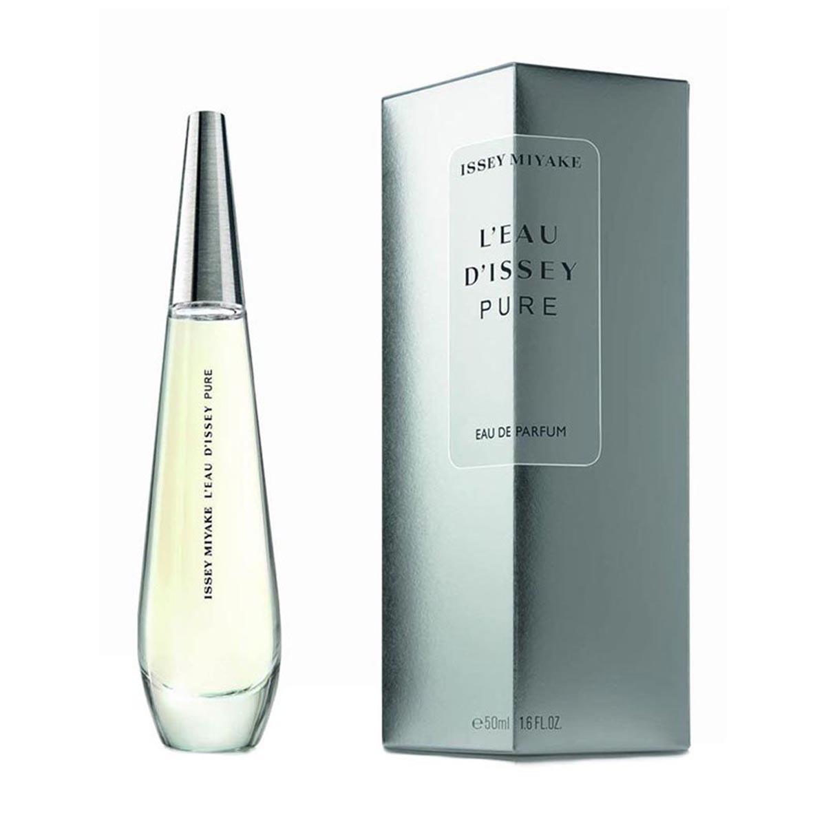 Issey miyake l eau d issey pure eau de parfum 100ml con funda vaporizador