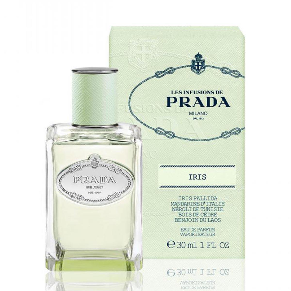 Prada infusion d iris eau de parfum 30ml vaporizador