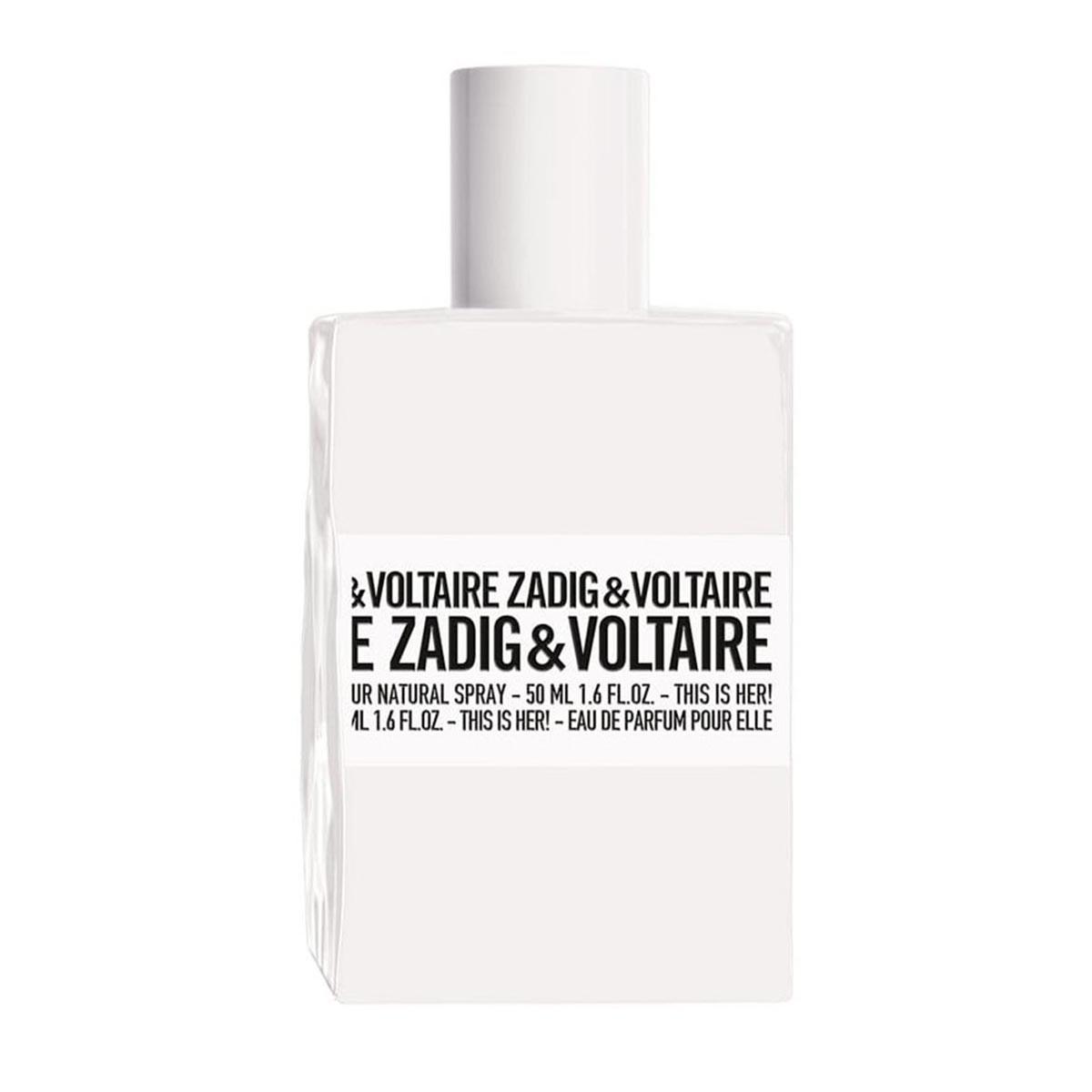 Zadig voltaire this is her eau de parfum 50ml vaporizador