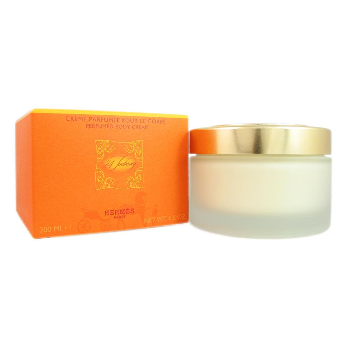 Hermes 24 faubourg perfumed body cream 200ml
