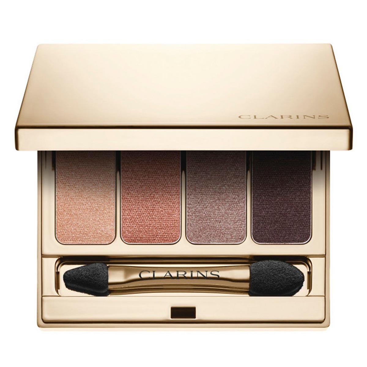 Clarins 4 colours eyeshadow palette 02 rosewood