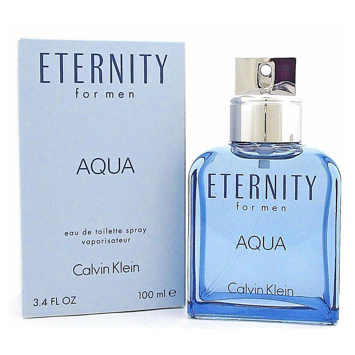 Calvin klein eternity aqua eau de toilette for men 100ml vaporizador