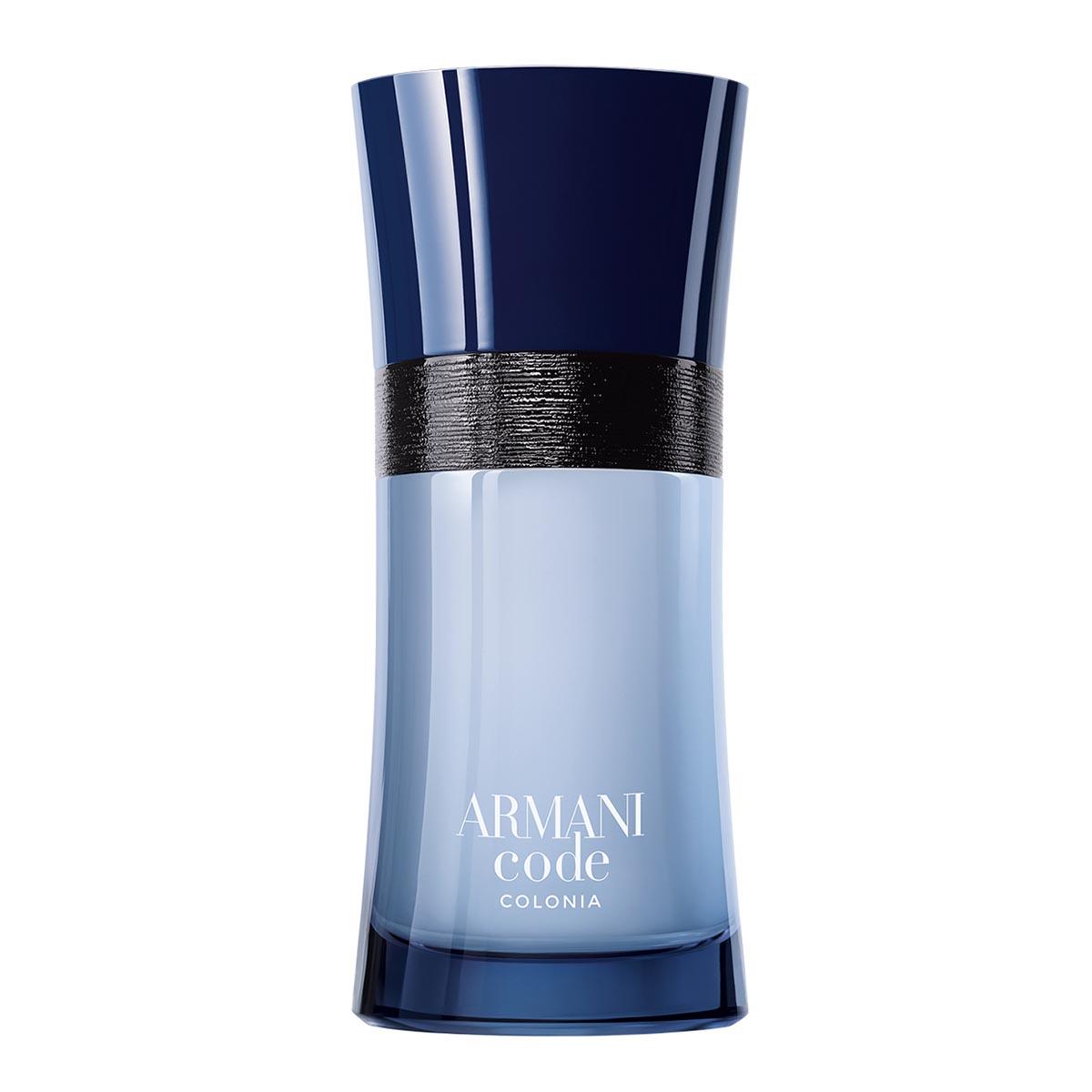 Giorgio armani code colonia eau de toilette 75ml vaporizador