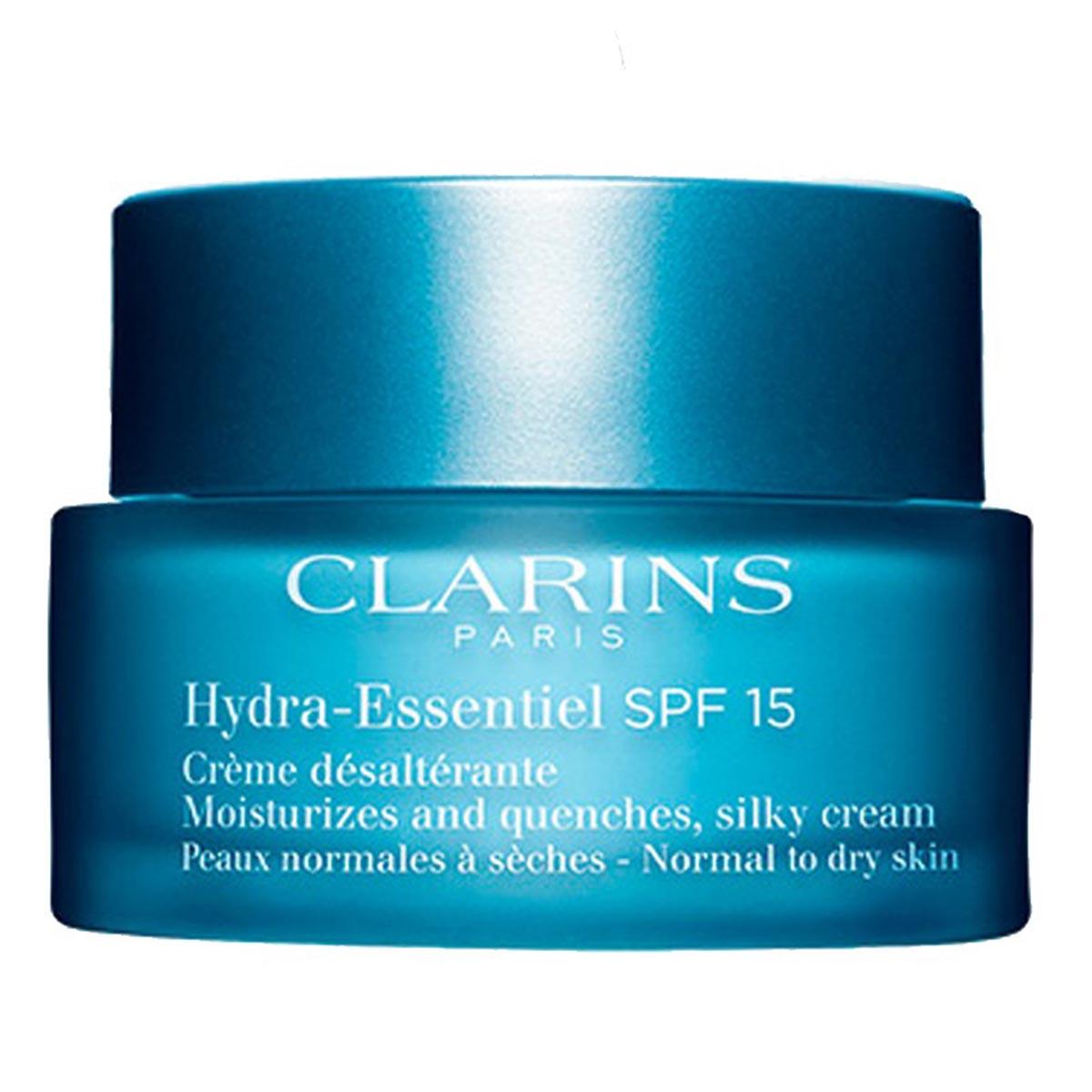 Clarins hydra essentiel spf15 creme desalterante 50ml